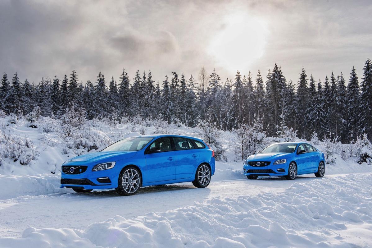 2016 Volvo V60 and Volvo S60 Polestar 2
