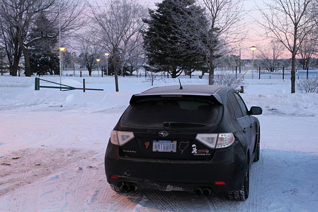 Cold Subaru