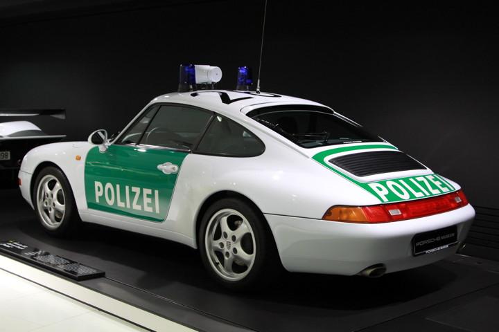 Porsche Museum Police 911