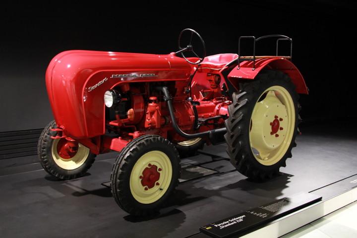 Porsche Museum Tractor