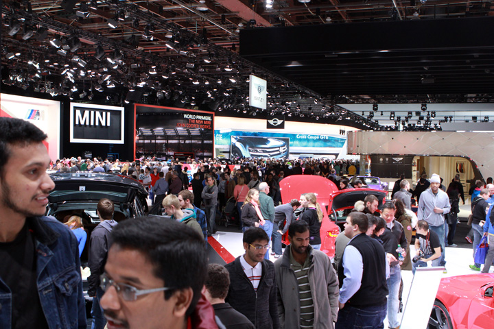 2015 NAIAS First Day