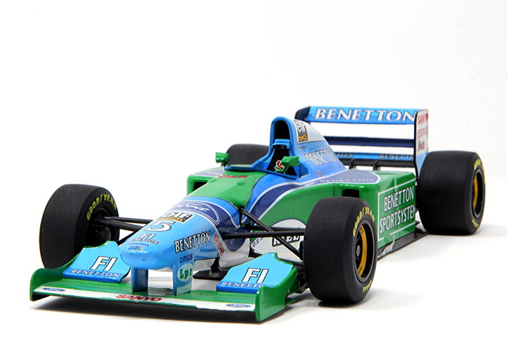 1993 Benetton Ford B193B #5 - Michael Schumacher