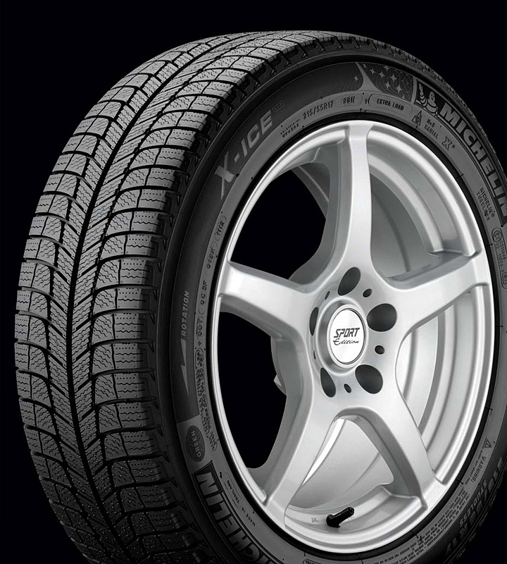 More rubber goodness—the Michelin X-Ice Xi3
