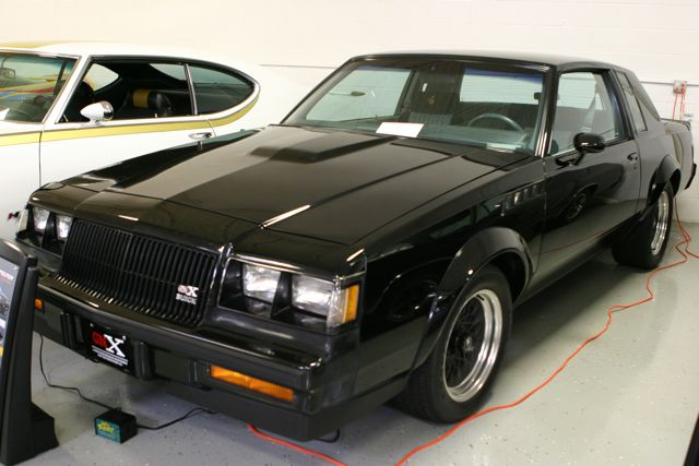 Buick Grand National GNX—faster from 0-60 mph than the Corvette back in 1987