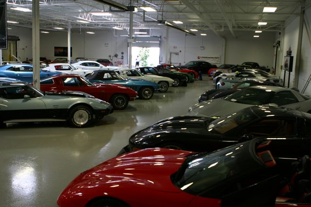 Corvettes galore