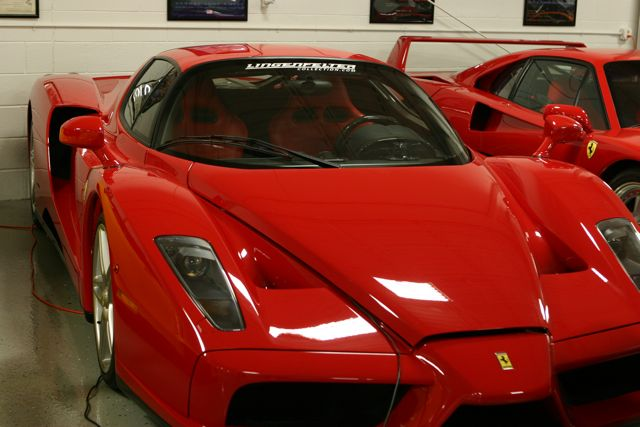 The Enzo Ferrari—named after the founder