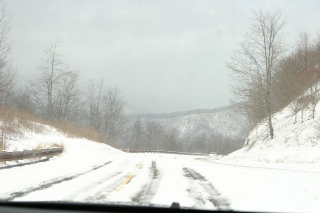 Cherohala Skyway in the Spring
