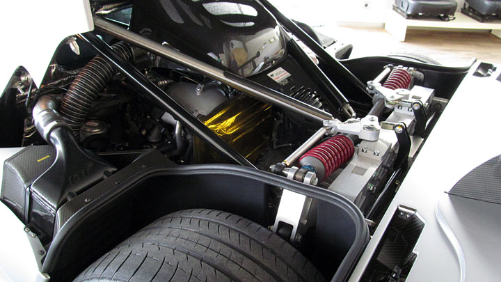 The RUF CTR3 engine