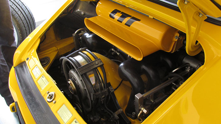 Group C Turbo RUF (CTR) Yellowbird engine