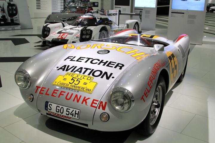 Porsche Museum 550 Spyder