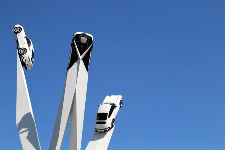 Porsche Museum 911s on a Stick