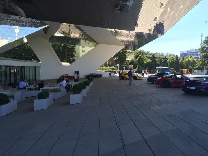 Porsche Museum Court